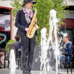 Mc Arthur Glen Saxophonistin Hamburg