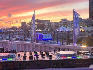 Hamburg Cruise Days Saxophonistin