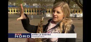 Saxophonistin RTL Nord