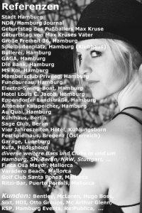 Anne La Sastra Saxophonistin Hamburg