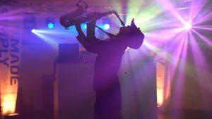 Dirk Kreuter Saxofonistin