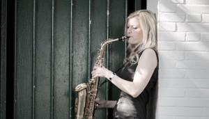 Live-Saxophon