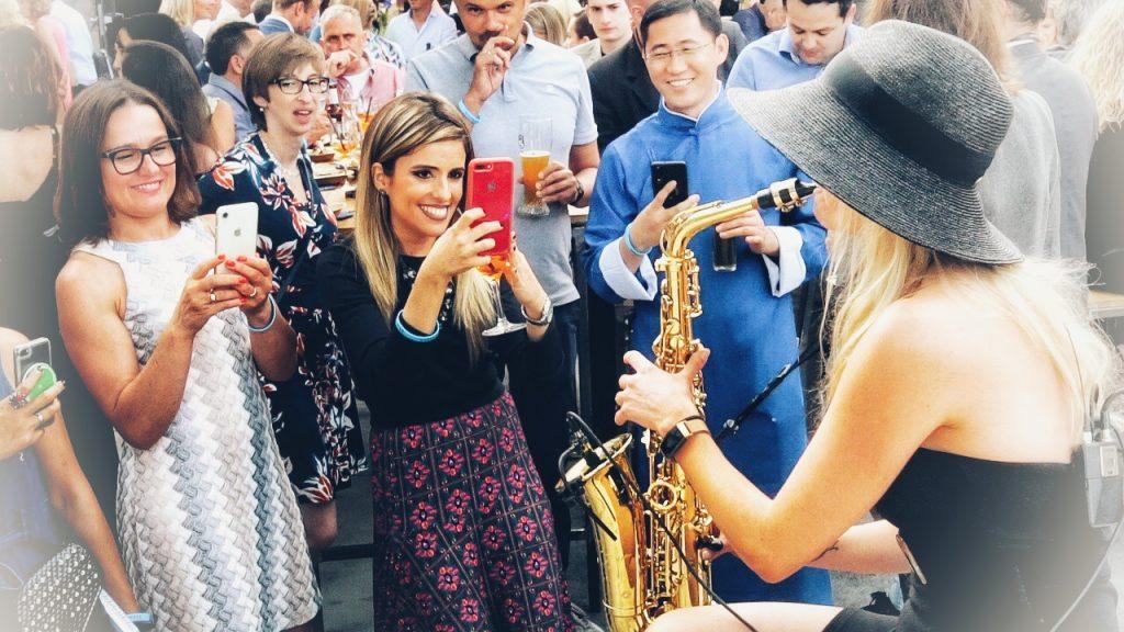 Saxophonistin Anne La Sastra Staufen AG Stuttgart