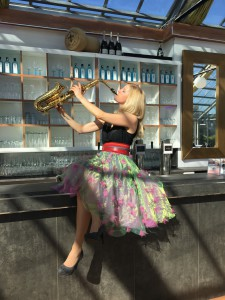 Saxophonistin Mode